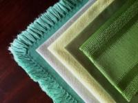 Assorted Vintage Green Napkins