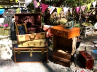 Vintage Suitcases and Decor