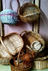 Vintage Assorted Baskets