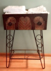 Vintage Drawer on Stand