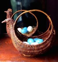 Vintage Rooster Baskets