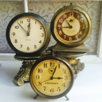 Trio of Vintage Clocks