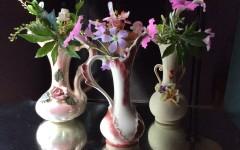 Vintage Petite Pottery Vases