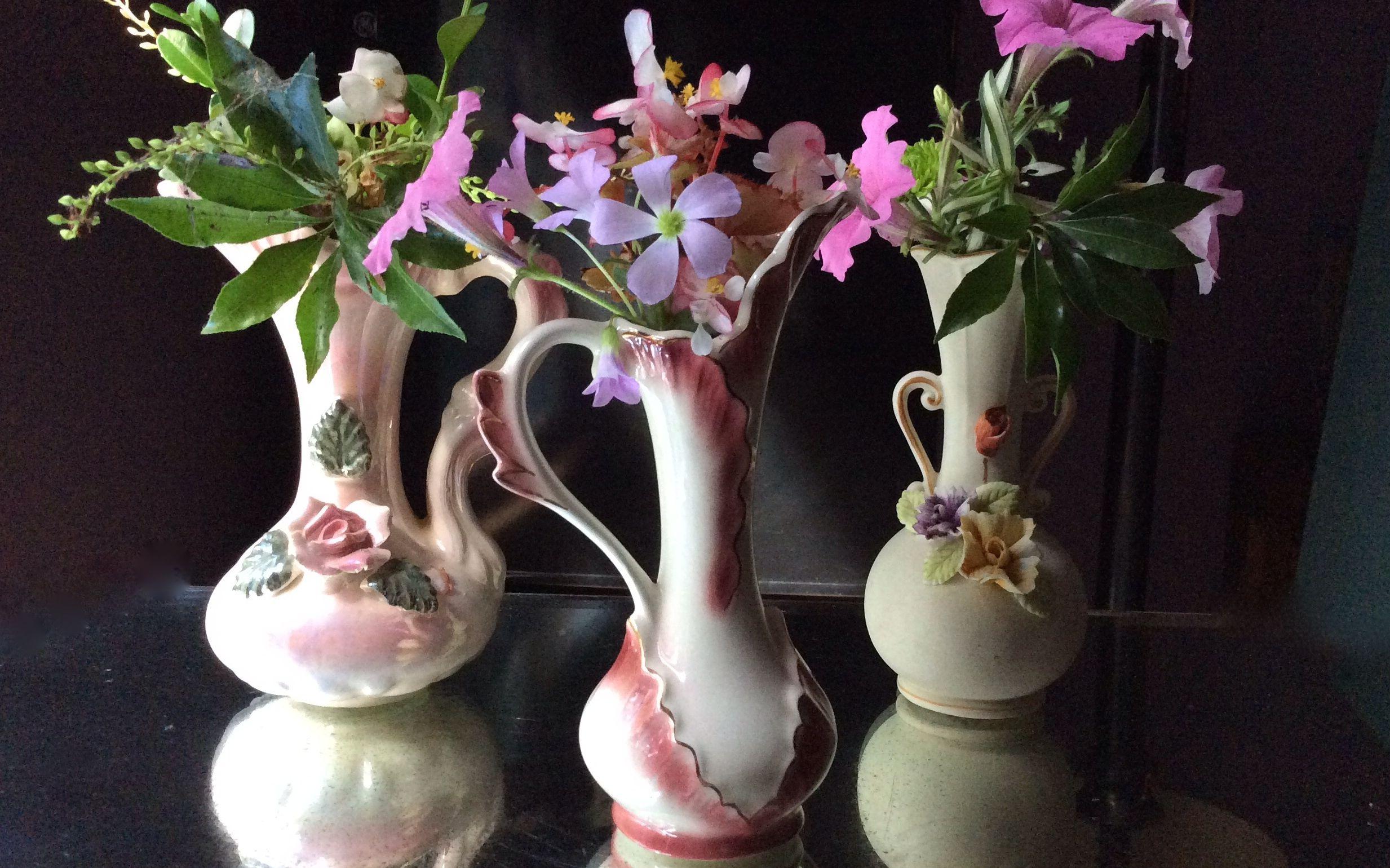 Vintage vases southern vintage table petite pottery vases reviewsmspy