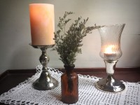 Vintage Peg Candle Holders
