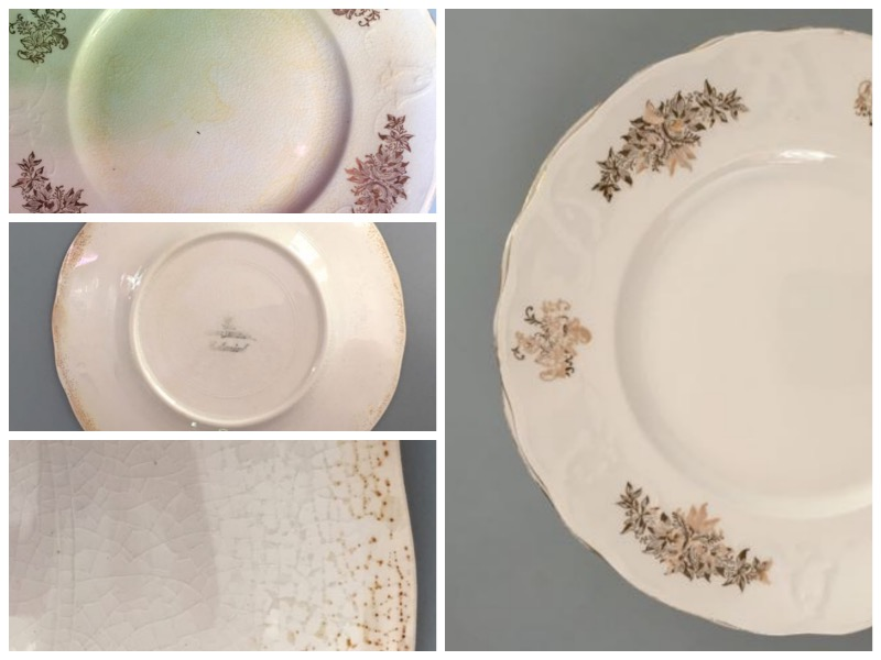 Cleaning China with Hydrogen Peroxide