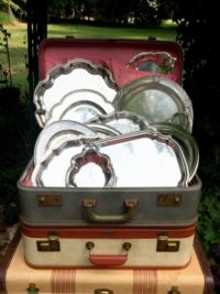 Vintage Trays Rental NC