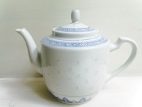 Blue & White China Teapot