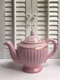 Vintage Pink Hall Teapot