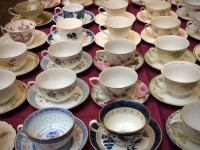 Vintage Teacups and Saucers