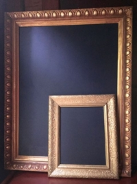 Gold Blackboard Frames