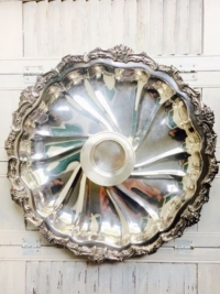 Vintage Silverplate Chip Tray