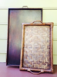 Vintage VintageLarger Wooden Trays