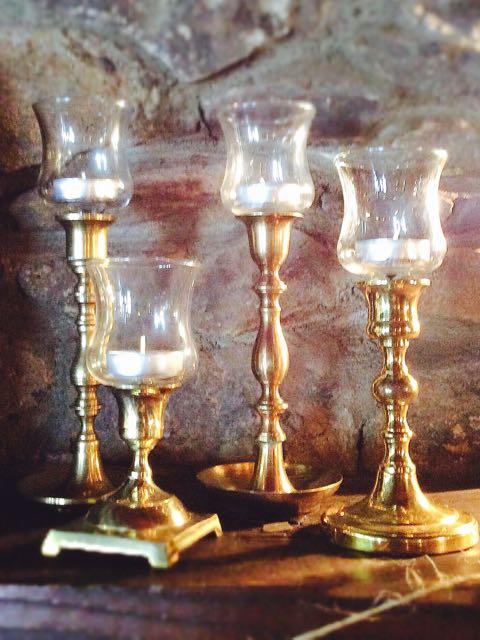 Finest Vintage Candle Holders – Southern Vintage Table YF97