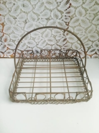 Vintage Wire Basket