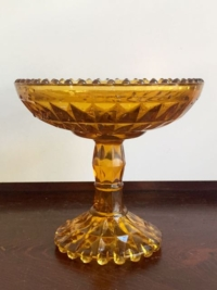 Vintage Anber Candy Dish