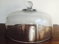 Vintage Glass Cake Dome