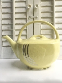 Vintage Hall Yellow Teapot