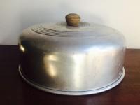 Vintage Metal Cake Dome