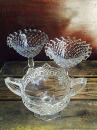 Vintage Open Candy Dishes