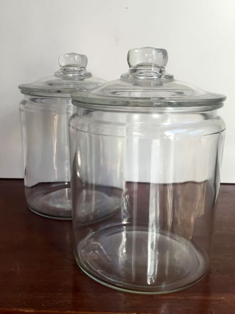 Vintage Candy Jars Containers