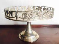 Vintage Silver Plated Cake Stand