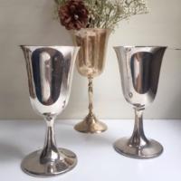Vintage Silverplate Goblets