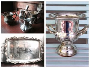 Southern Vintage Table Vintage Silver-plate