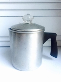 Vintage Aluminum Coffee Pot