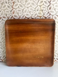 Vintage Square Wooden Tray
