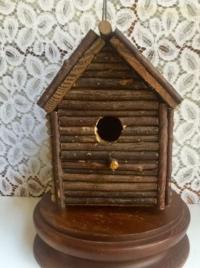 Vintage Stick Birdhouse