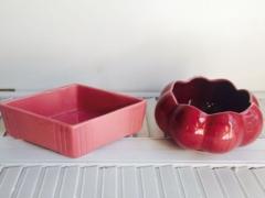 Ceramic Pink Planters