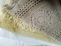 Vintage Large Round Doilies