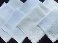White/Cream Napkins (