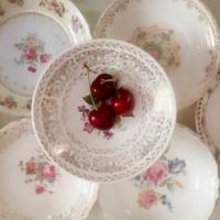 Vintage Berry Bowls