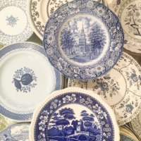 Vintage Blue & White China Patterns