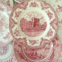 Vintage Red and White China Patterns