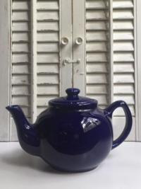 Vintage Cobalt Teapot