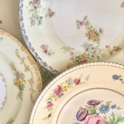 Elegant Vintage Plates