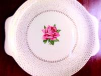 Vintage Cake Plate