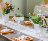 Vintage Milk Glass Centerpieces