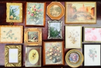 Vintage Petite Art Display