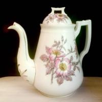 Vintage Gutherz Pink Floral