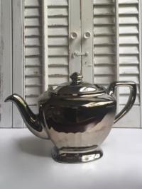 Vintage Platinum Teapot