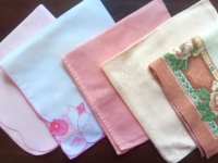 Pink Patterned Napkins