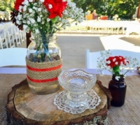 Vintage Votive in Centerpiece