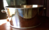 Vintage Silver-plated Cooler