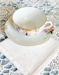 Vintage Napkin under Vintage Napkin