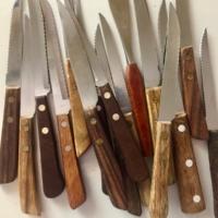 Vintage Steak Knives