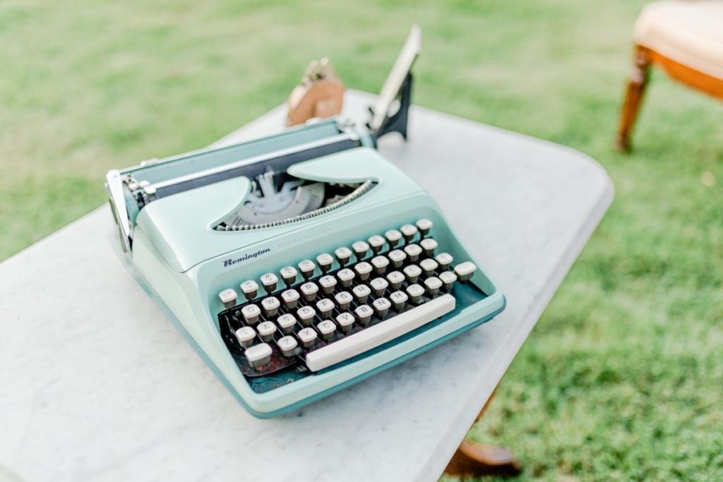 Vintage Typewriter Rental NC